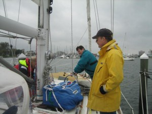 Crewmen Mike & Galen Arrived to help with final preparations