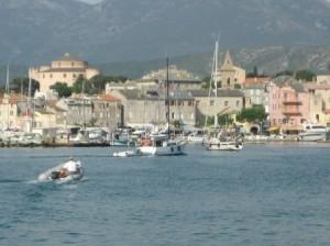 Kent & Jolie Dinghy to St. Florent