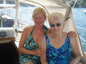 Carol & Mom in Ischia