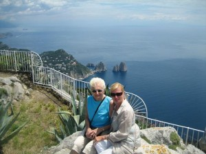 Carol & Mom on Monte Solaro