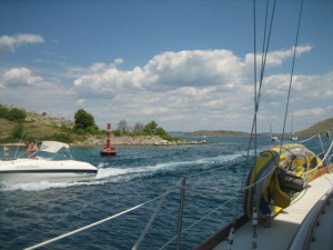 Channel  to Otok Dugi