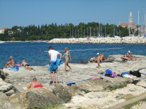 Concrete Beach, Rovinj