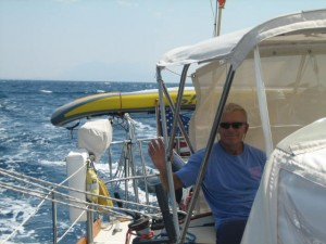 Finally sailing. . .Korcula to Hvar