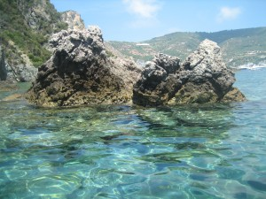 Gorgeous Water in Ponza