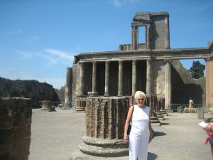 Jan in Pompei