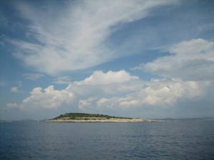 One of the many Kornati Islands