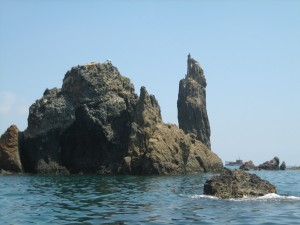 Ponza Rock Sculptures