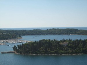 Rovinj Anchorage from Bell Tower