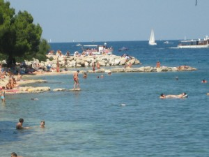 Rovinj Rock Beach