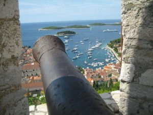 View from Fortress, Hvar