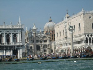 Canal View of San Marco Square