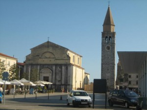Umag Cathedral & Bell Tower
