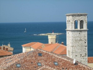 View from Porec Bell Tower