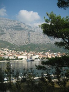 View of Makarska from Park