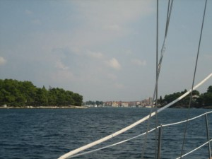 Approaching Inlet at Stari Grad