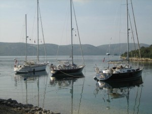 Excalibur, Destiny & Glass Slipper in Rava, Croatia