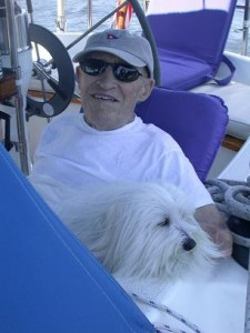 Grampy was my all time favorite sailing buddy--I miss him a lot