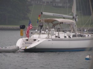 Quintessence, a Hylas 49 was Captained by Cecily Grable