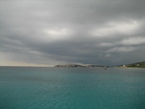 Stari Trogir as Storm Approaches