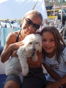 I met Stephanie & Chloe on vacation--they live in Istanbul