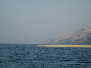 Approaching the Tip of Veli Rat