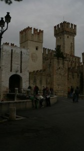 You drive through Scalinger Castle Gate to enter the Old Town