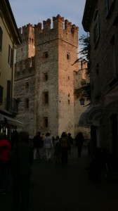 Scaliger Castle dominates the Old Town