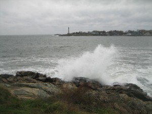Marblehead Light from Fort Sewall