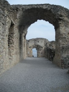 Reported to be the largest Roman villa in N. Italy