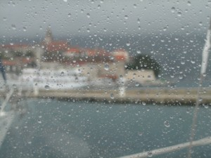 Korcula in the Rain