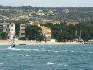 Windsurfing in Primosten