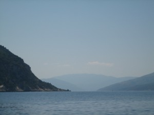 Channel between Ithaca and Cephalonia