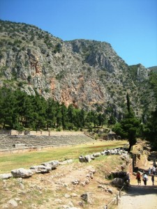 Delphi's Stadium echoes with past contests