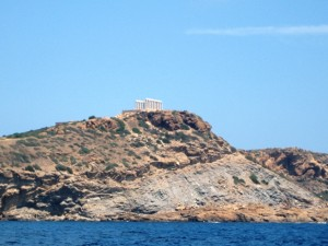 Approaching Sounion