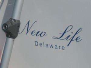 """Delaware"". . .not in this new life!"
