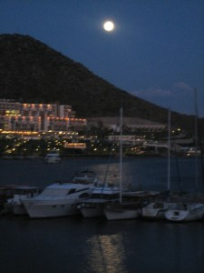 Full Moon over Akyarlar
