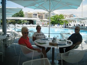 Lunch at Zea Marina