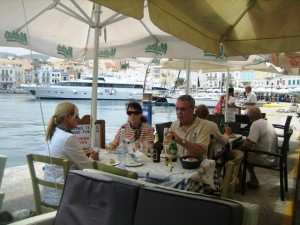 Harborside Taverna Lunch