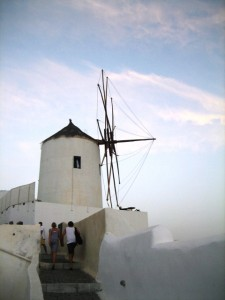 Windmill at Dusk