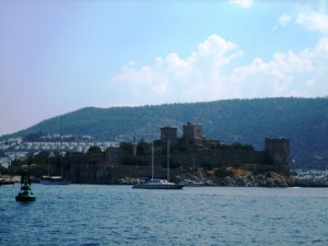 St. Peter's Castle sits at entrance to Bodrum Harbor