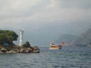 Hundreds of tripper boats leave Marmaris Harbor daily.
