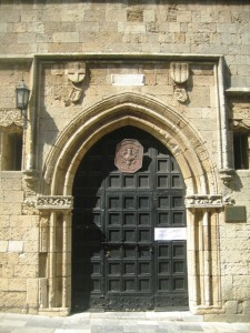 Doorway on the Street of Knights