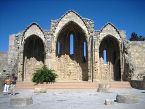 Remnants of an early Christian church