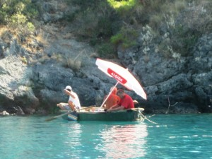 Small boats are allowed in the bay as long as they are not engine powered