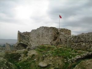 A Byzantine fortification tops the Great Theater