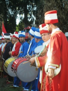Ottoman Band led the way to the festivities