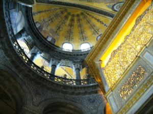 Hagia Sophia  an early Christian church and later a Mosque is now a museum