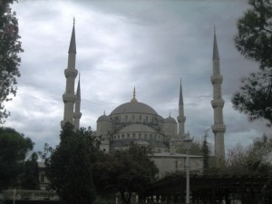 The Spires of the Blue Mosque