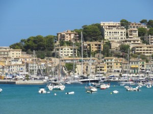 Soller is a charming village on the north coast of Mallorca with a protected harbor. . .